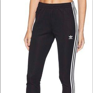 Sz Xs super star track pants Adidas nwot